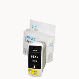 alternatief inkt cartridge voor Hp 88XL zwart EXTRA VEEL INHOUD !