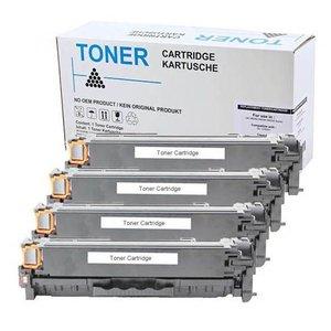 Set 4 Premium Toners voor HP 410X-413X M452 M477