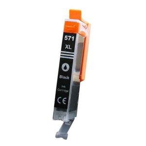 alternatief inkt cartridge voor Canon CLI571XL grijs