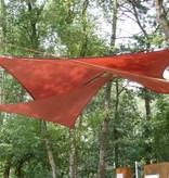 Sunfighter Schaduwdoek driehoek waterdoorlatend 360x360x360