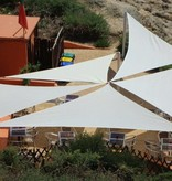 Sunfighter Schaduwdoek waterdicht variabele driehoek 350x400x450