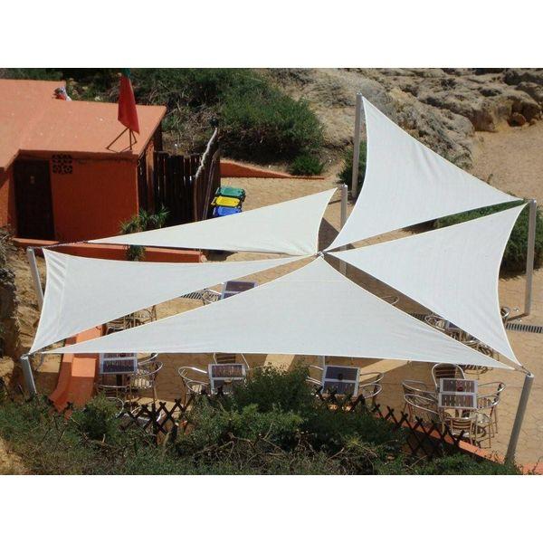 Schaduwdoek waterdicht variabele driehoek 400x500x540