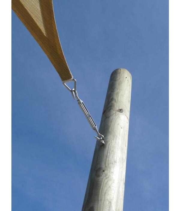 Sunfighter Schaduwdoek waterdicht variabele driehoek 400x500x540