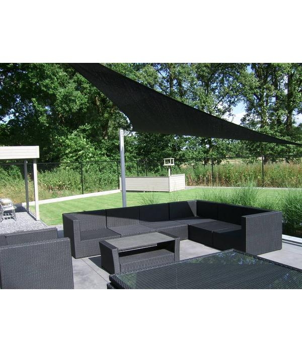 Sunfighter Schaduwdoek variabele driehoek waterdoorlatend 350x400x450