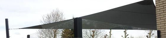 Schaduwdoek langhoek driehoek