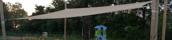 Schaduwdoek rechthoek