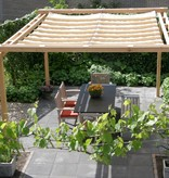 Shadowz pergola incl. wavesail 2,90 x 4,00 mtr. Waterdicht