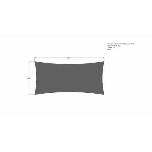 ISlifestyle Schaduwdoek 220 x 460 cm