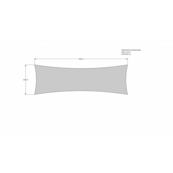 Schaduwdoek 125 x 390 cm