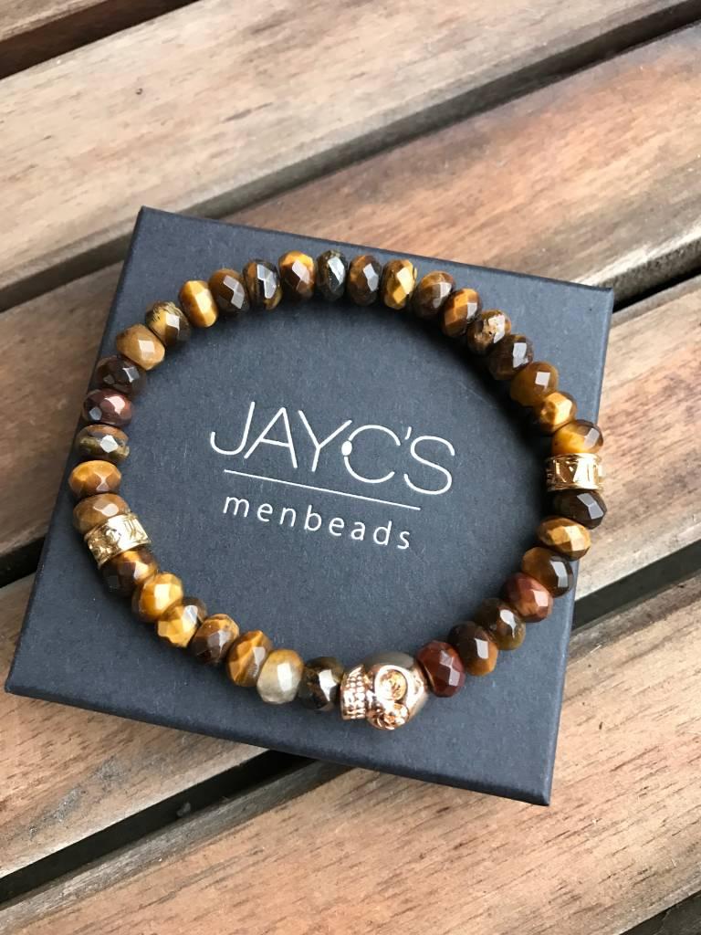 JayC's Armband heren Bad Monday Skull Schedel