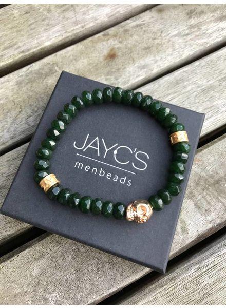 JayC's Men's Bracelet Crank Skull