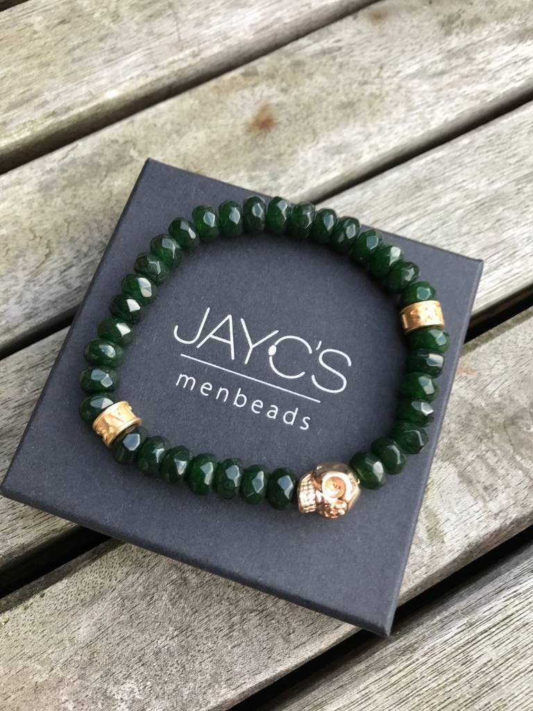 JayC's Armband heren Skull Crank