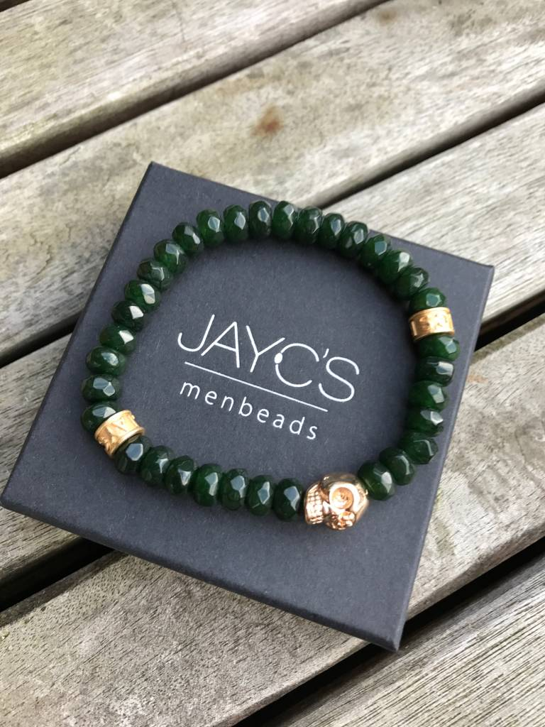 JayC's Bracelet men Crank Skull