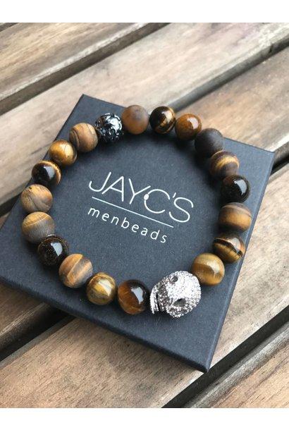 Men's bracelet Boogy Woogy Skull