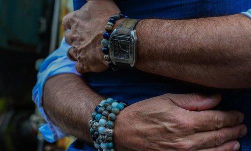 Heren Armband Blauw