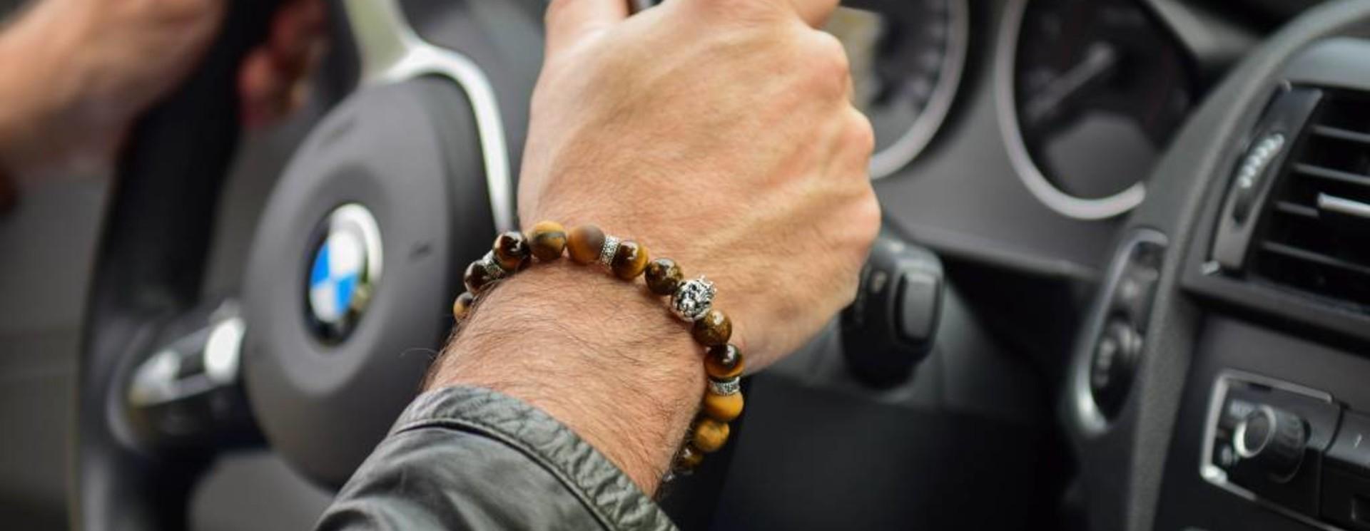 Herren-Armband Tigerauge