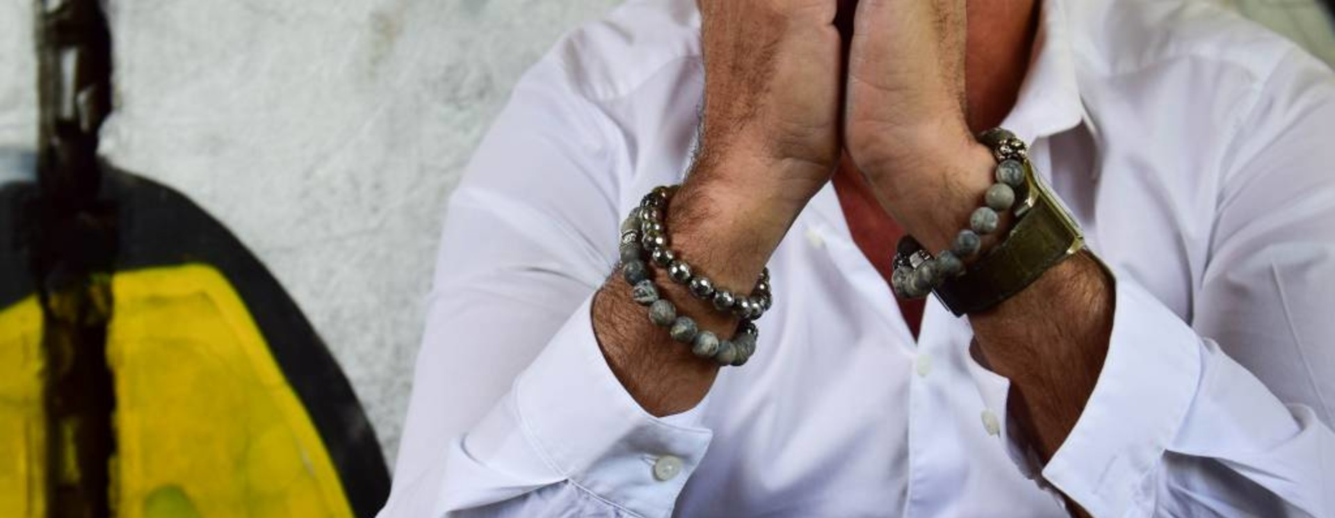 Men's Bracelets Gray