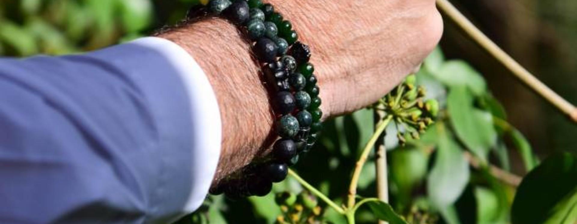 Heren Armband Groen