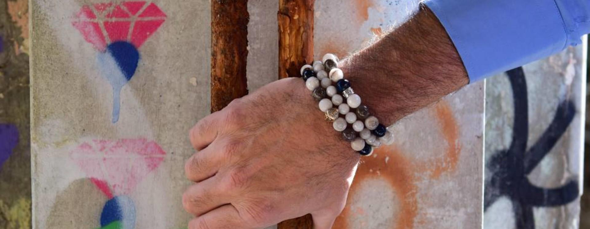 Men's Bracelets White