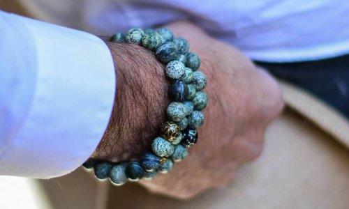 Men's Bracelet Green