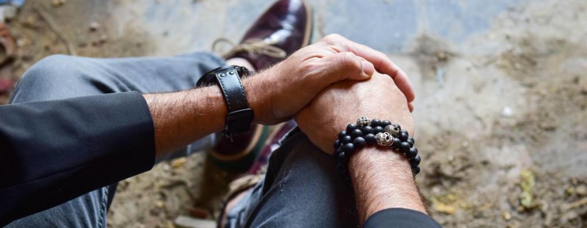 Heren Armband Zwart
