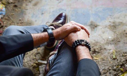 Men Bracelet Black