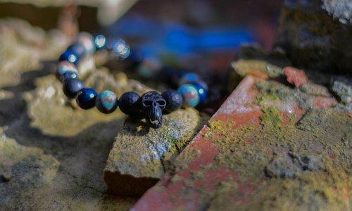 Herren-Armband Blau