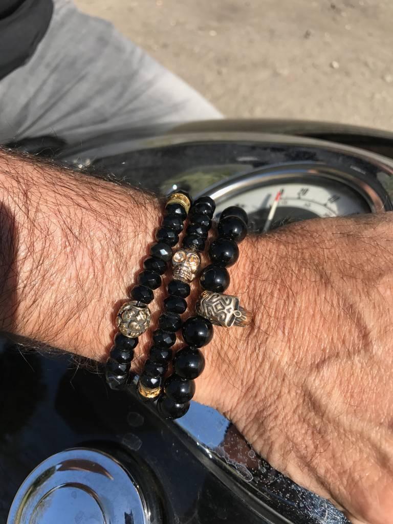 Armband heren Skull Touch the Sky-2