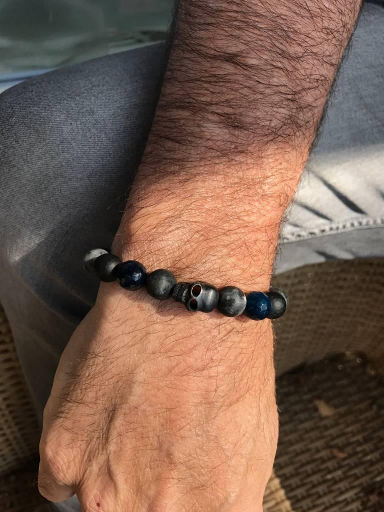 JayC's Bracelet Men Shades Skull
