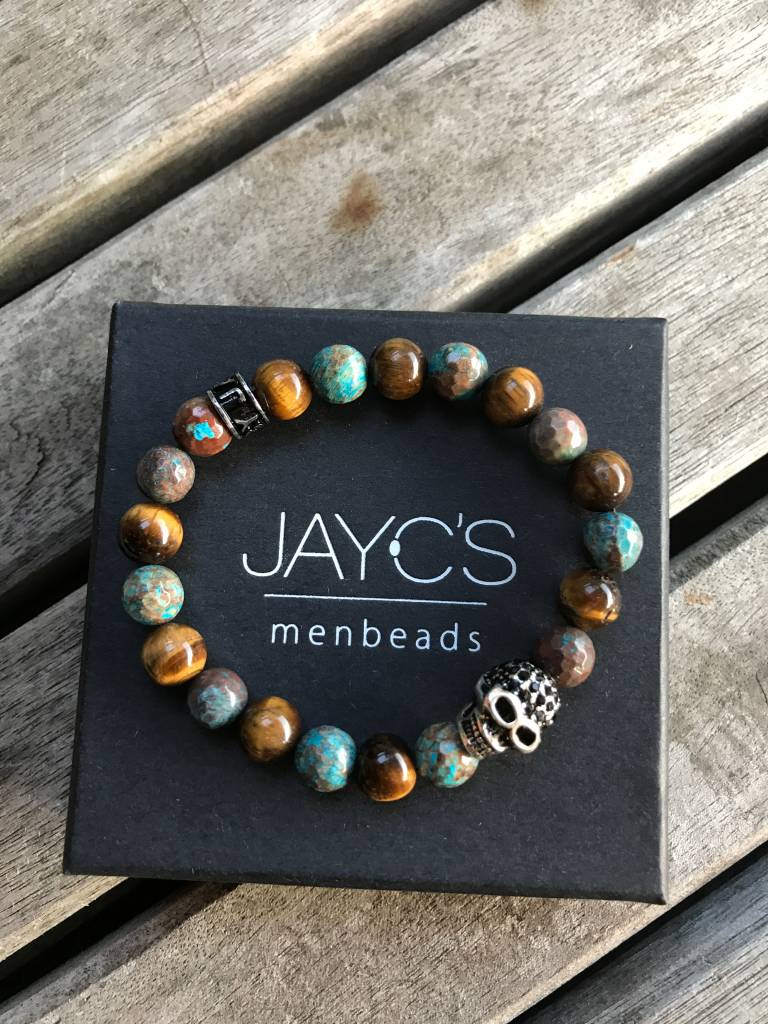 JayC's Armband kids Jongens Skull Bloodbound III