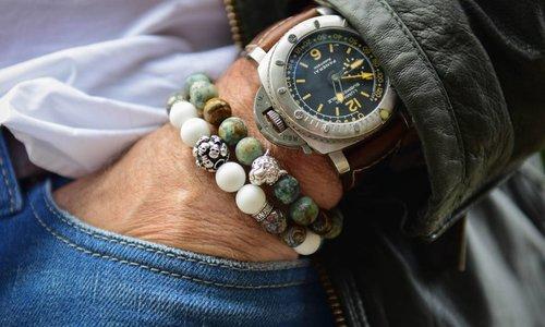 Bracelet Green 10 MM