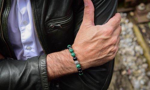 Bracelet Green 8 MM