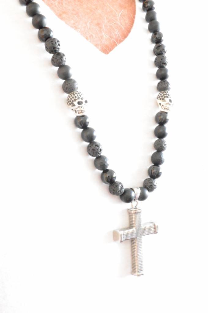 Ketting Heren Belvedere Kruis Cross-2