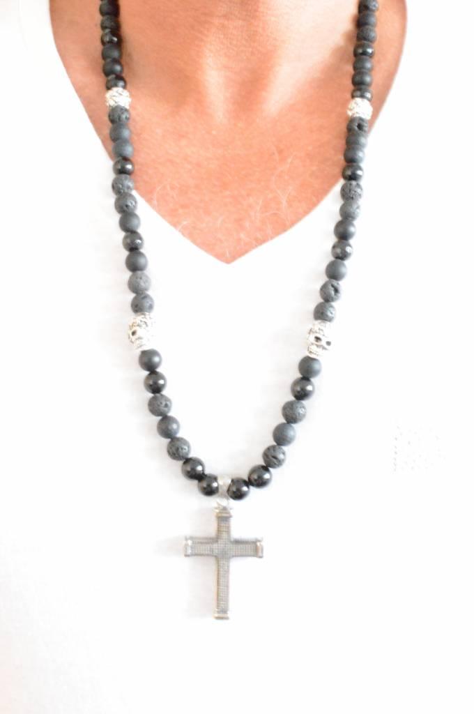 JayC's Men's Necklace Heritage Cross