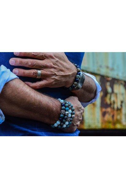 Blue Mood Men Beads Bracelets