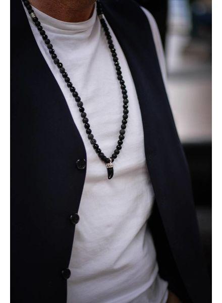 JayC's Herren halskette Moulive Zahn