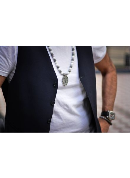 JayC's Men's Necklace Dubay Skull