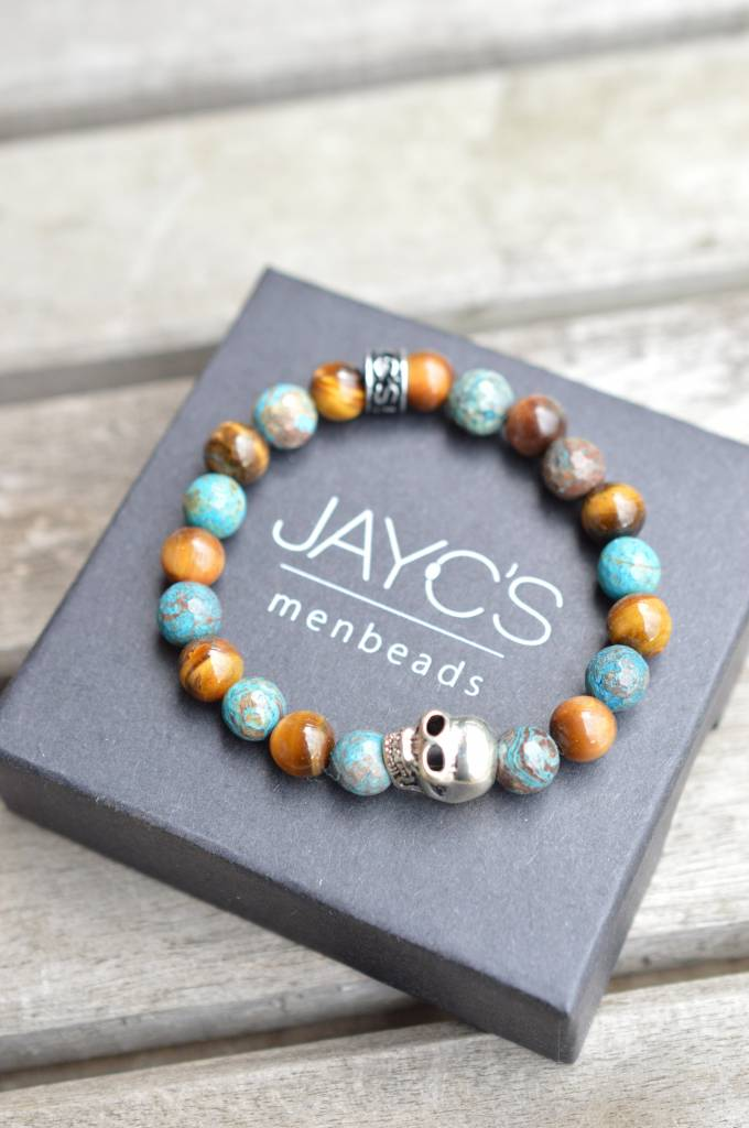 JayC's Armband kids Jongens Skull Bloodbound IIII