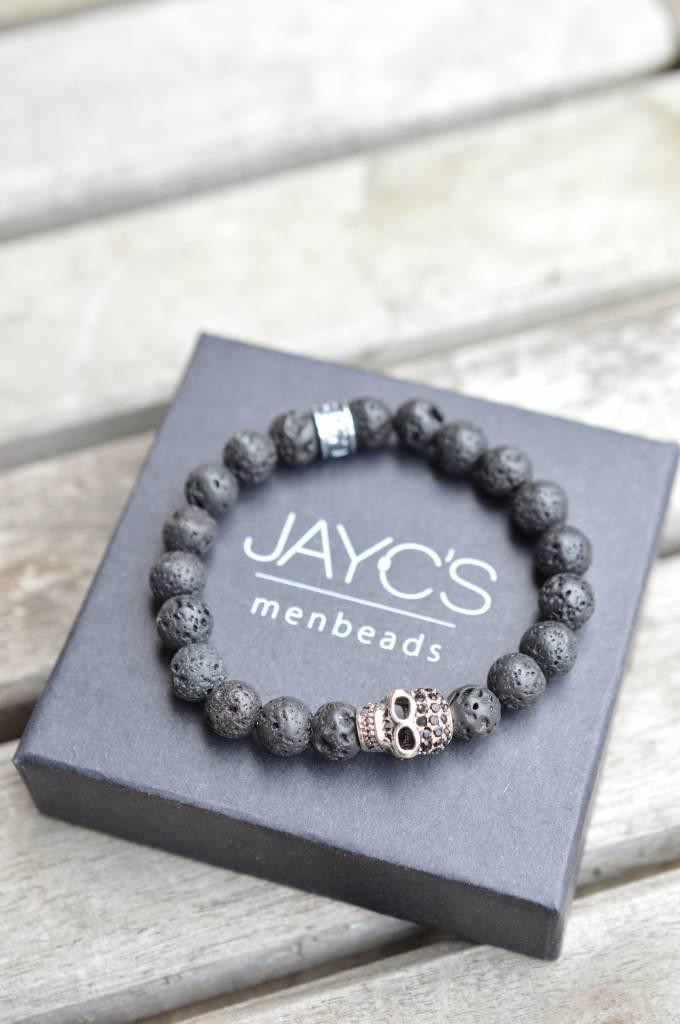 JayC's Bracelet kids Black Skully I