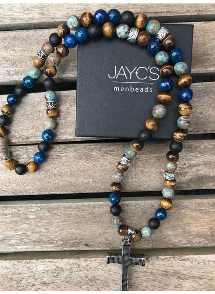 JayC's Mannen Ketting Germaine Kruis