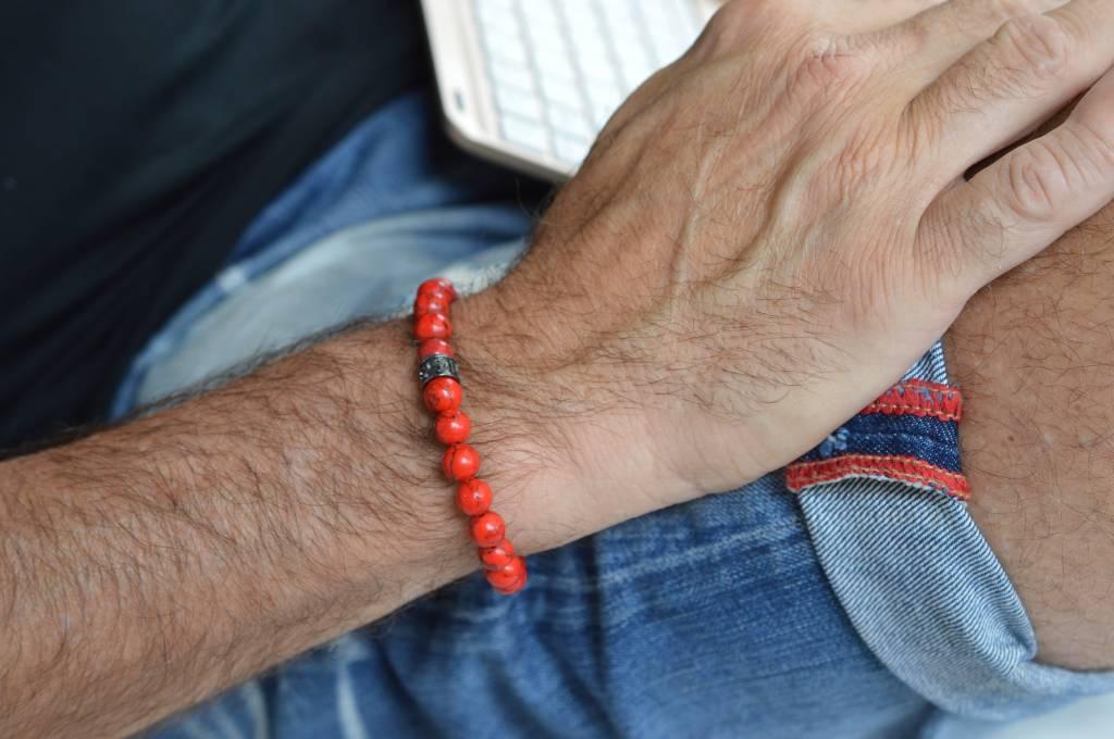 JayC's Armband heren basic Redless