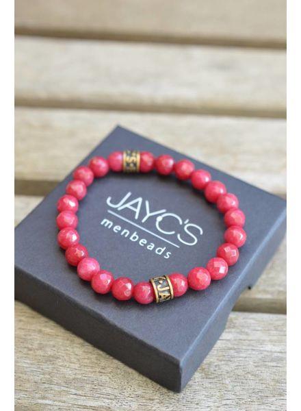 JayC's Dames armband basic Rosebottle
