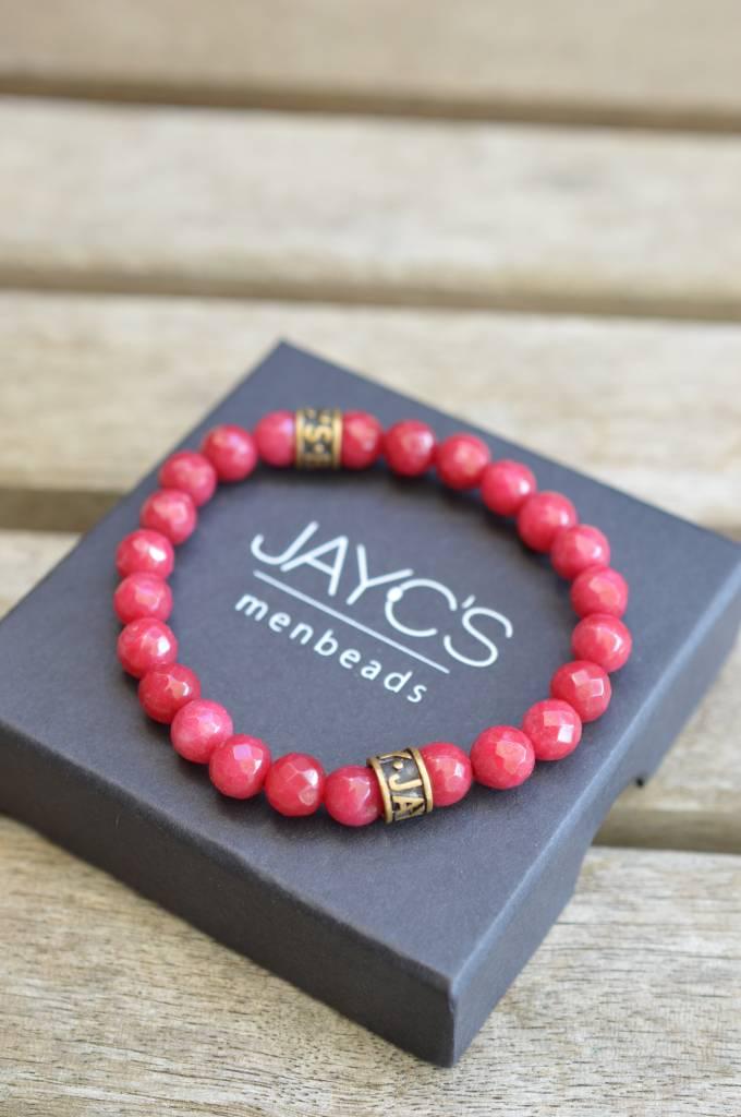 JayC's Armband dames basic Rosebottle