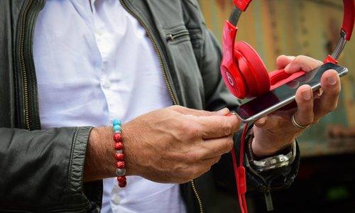 Bracelets Red