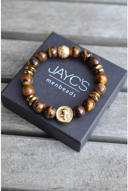 Men's bracelet Tirta Gangga Skull