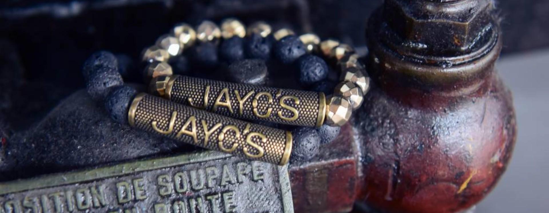 Heren armband Gold Label