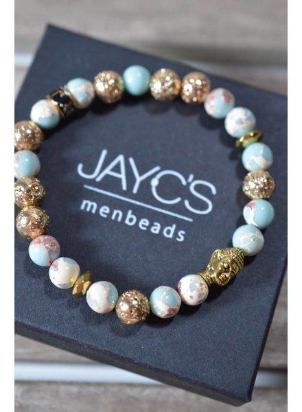 JayC's Dames armband Moon Buddha