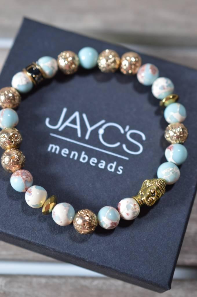 JayC's Bracelet Ladies Moon Buddha