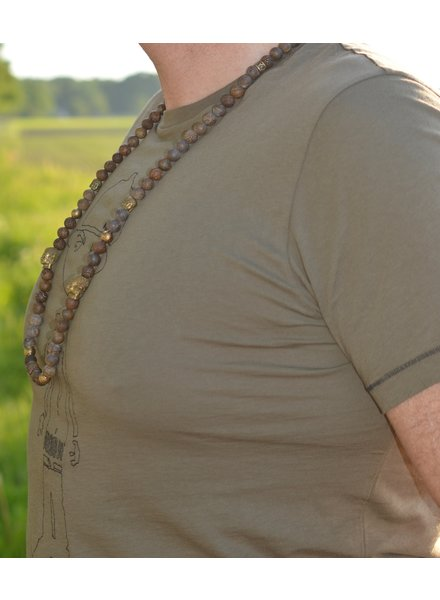 JayC's Men's Necklace Camdoe Buddha