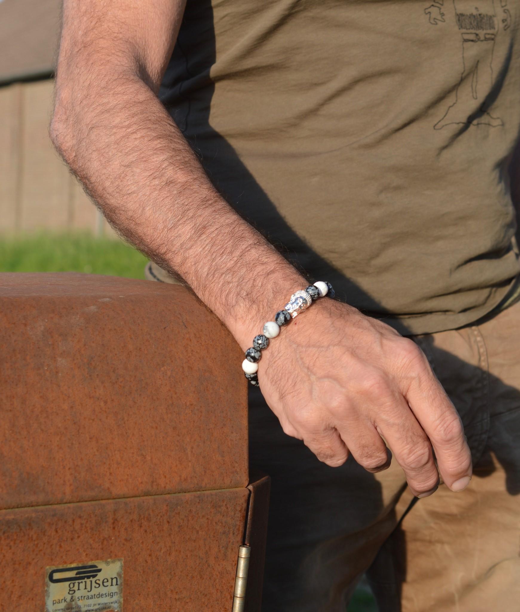 JayC's Armband heren Winan Buddha